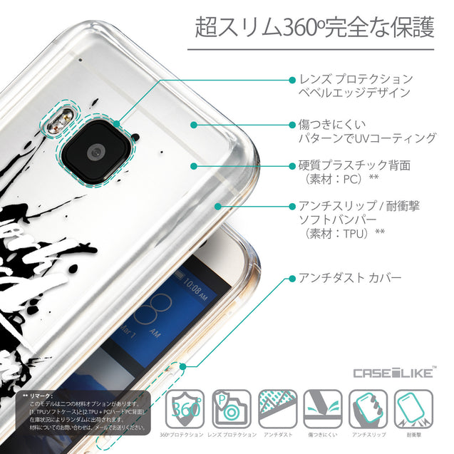 Details in Japanese - CASEiLIKE HTC One M9 back cover Quote 2414