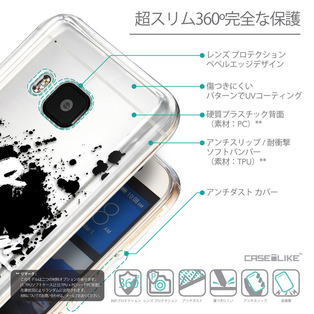 Details in Japanese - CASEiLIKE HTC One M9 back cover Quote 2415