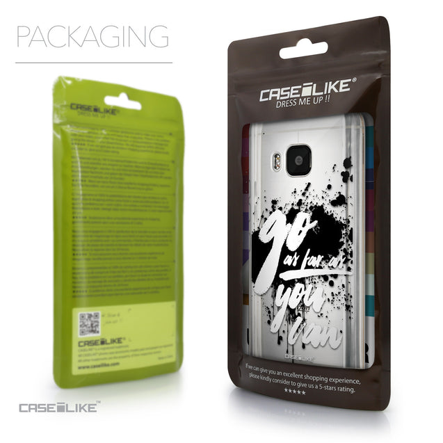 Packaging - CASEiLIKE HTC One M9 back cover Quote 2415