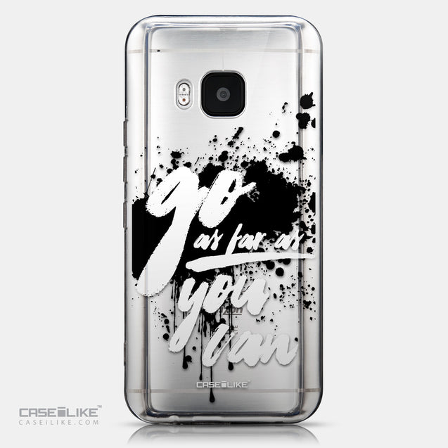 CASEiLIKE HTC One M9 back cover Quote 2415