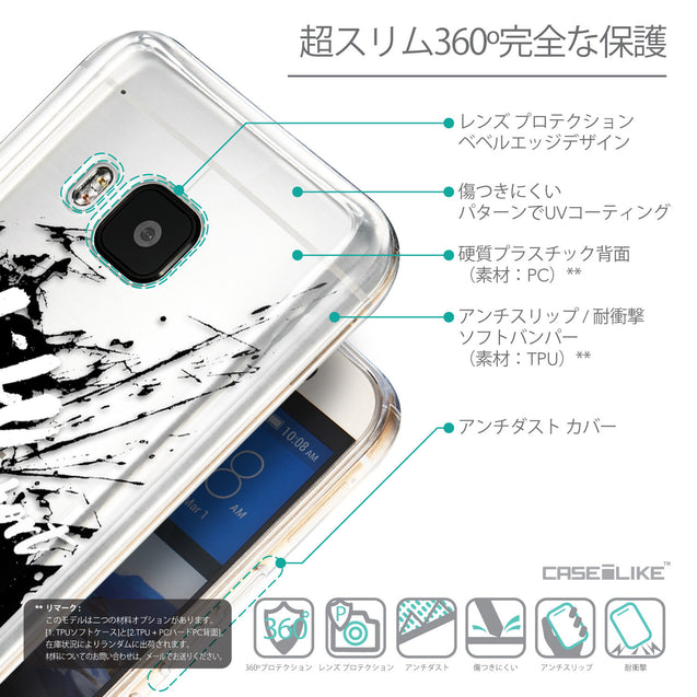 Details in Japanese - CASEiLIKE HTC One M9 back cover Quote 2416