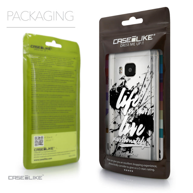 Packaging - CASEiLIKE HTC One M9 back cover Quote 2416