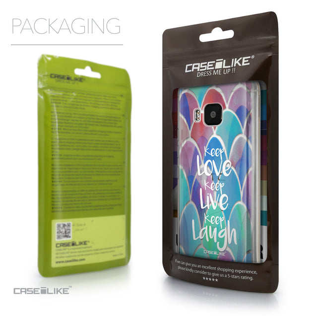 Packaging - CASEiLIKE HTC One M9 back cover Quote 2417