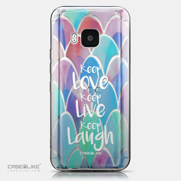 CASEiLIKE HTC One M9 back cover Quote 2417