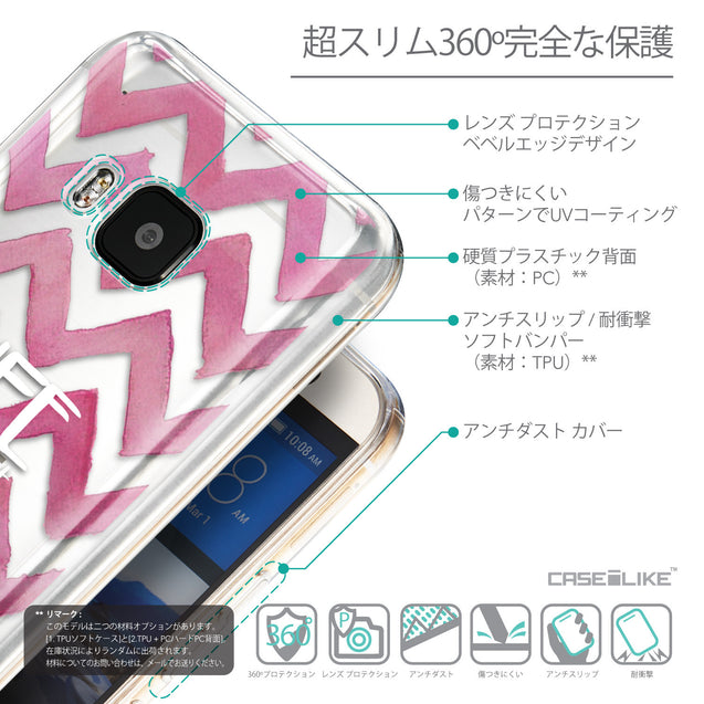 Details in Japanese - CASEiLIKE HTC One M9 back cover Quote 2419