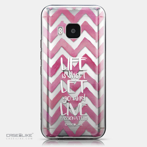 CASEiLIKE HTC One M9 back cover Quote 2419