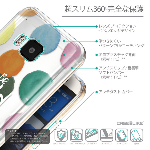 Details in Japanese - CASEiLIKE HTC One M9 back cover Quote 2420