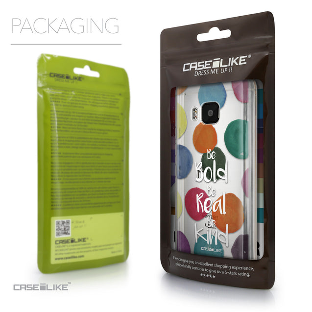 Packaging - CASEiLIKE HTC One M9 back cover Quote 2420
