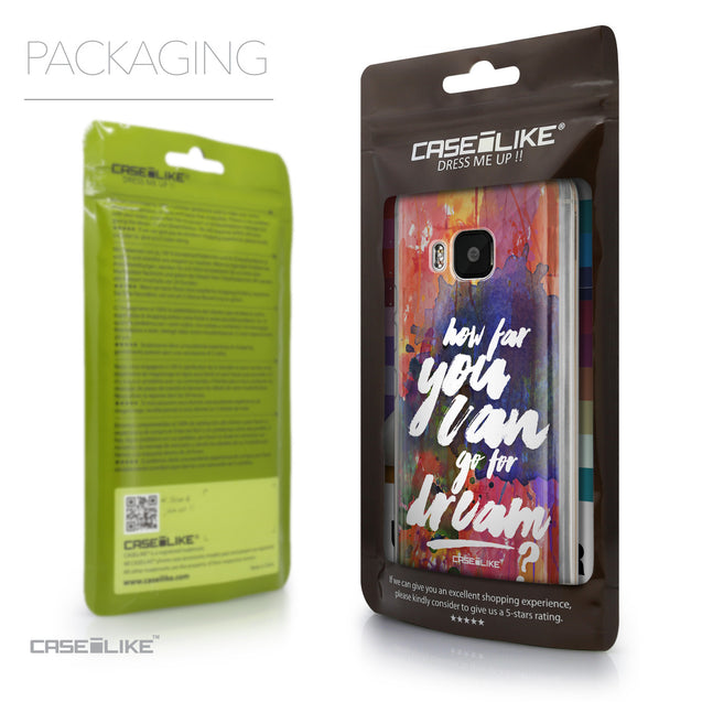 Packaging - CASEiLIKE HTC One M9 back cover Quote 2421