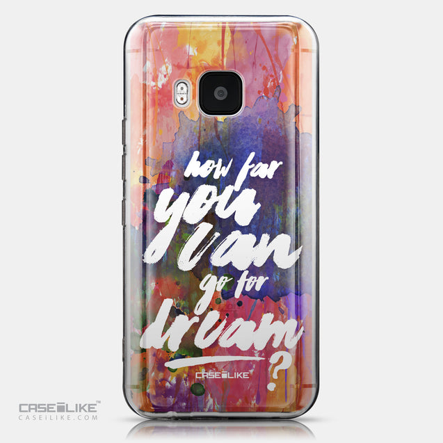 CASEiLIKE HTC One M9 back cover Quote 2421