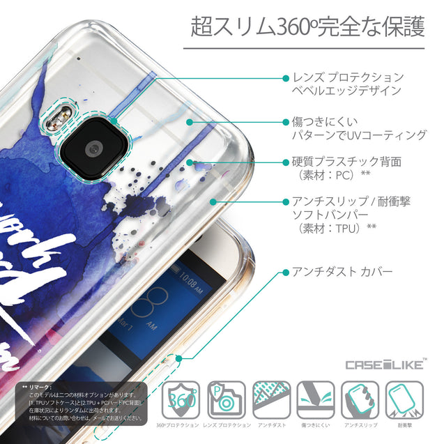Details in Japanese - CASEiLIKE HTC One M9 back cover Quote 2422