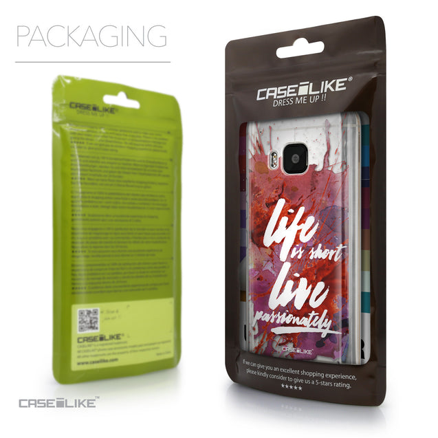 Packaging - CASEiLIKE HTC One M9 back cover Quote 2423