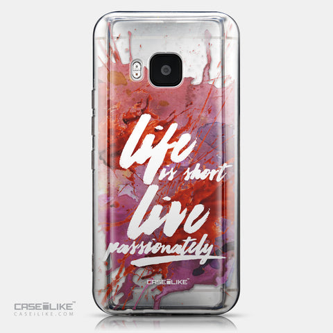 CASEiLIKE HTC One M9 back cover Quote 2423