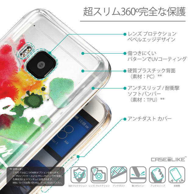 Details in Japanese - CASEiLIKE HTC One M9 back cover Quote 2424