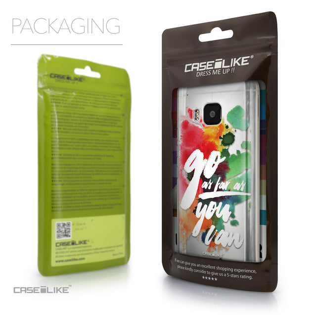 Packaging - CASEiLIKE HTC One M9 back cover Quote 2424