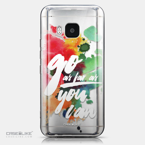 CASEiLIKE HTC One M9 back cover Quote 2424