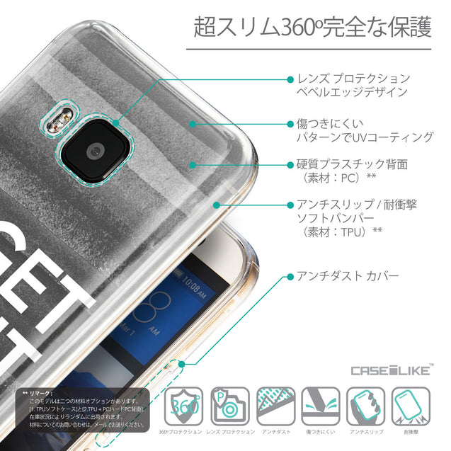 Details in Japanese - CASEiLIKE HTC One M9 back cover Quote 2429