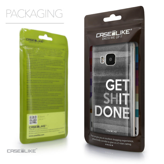 Packaging - CASEiLIKE HTC One M9 back cover Quote 2429