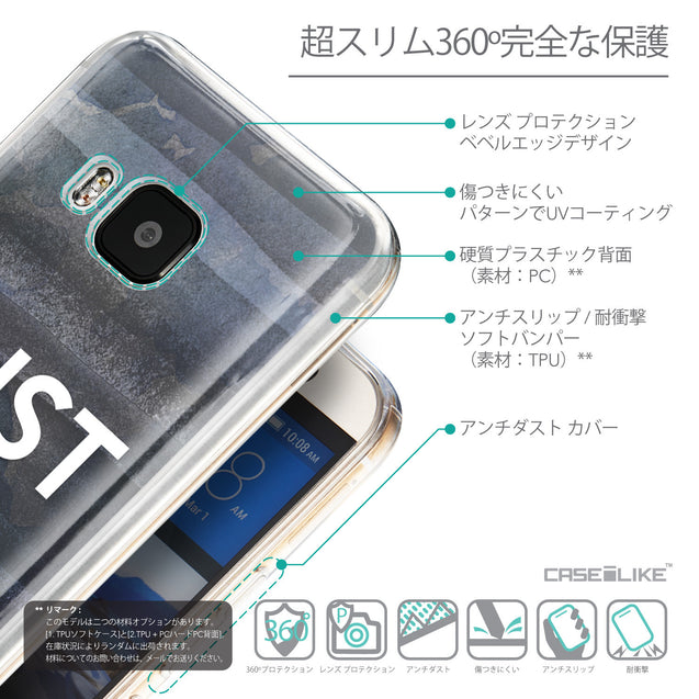 Details in Japanese - CASEiLIKE HTC One M9 back cover Quote 2430