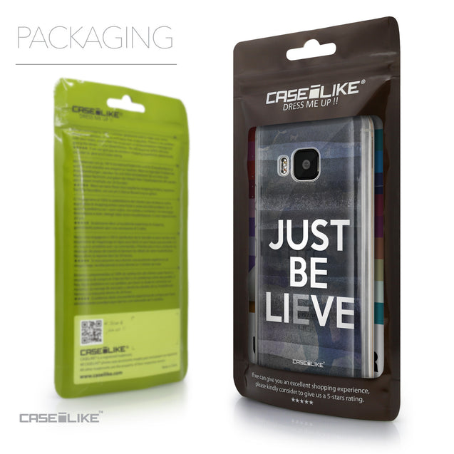 Packaging - CASEiLIKE HTC One M9 back cover Quote 2430