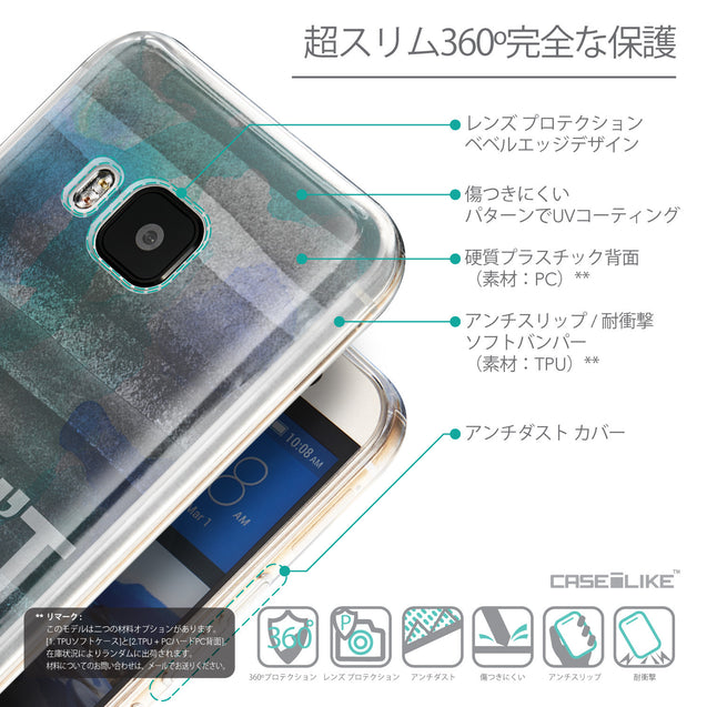 Details in Japanese - CASEiLIKE HTC One M9 back cover Quote 2431