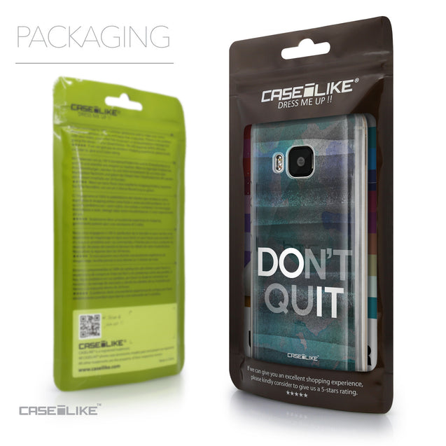 Packaging - CASEiLIKE HTC One M9 back cover Quote 2431