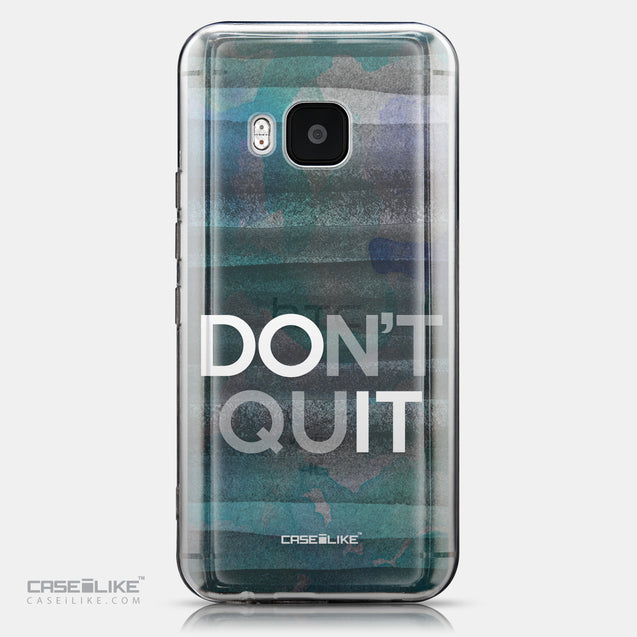CASEiLIKE HTC One M9 back cover Quote 2431