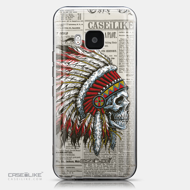 CASEiLIKE HTC One M9 back cover Art of Skull 2522