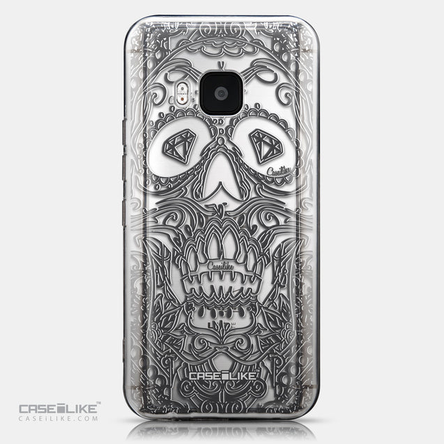 CASEiLIKE HTC One M9 back cover Art of Skull 2524