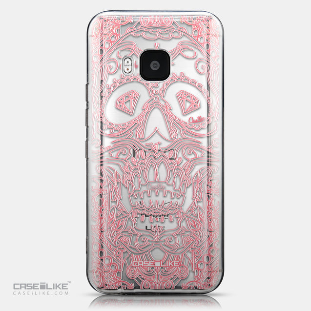 CASEiLIKE HTC One M9 back cover Art of Skull 2525