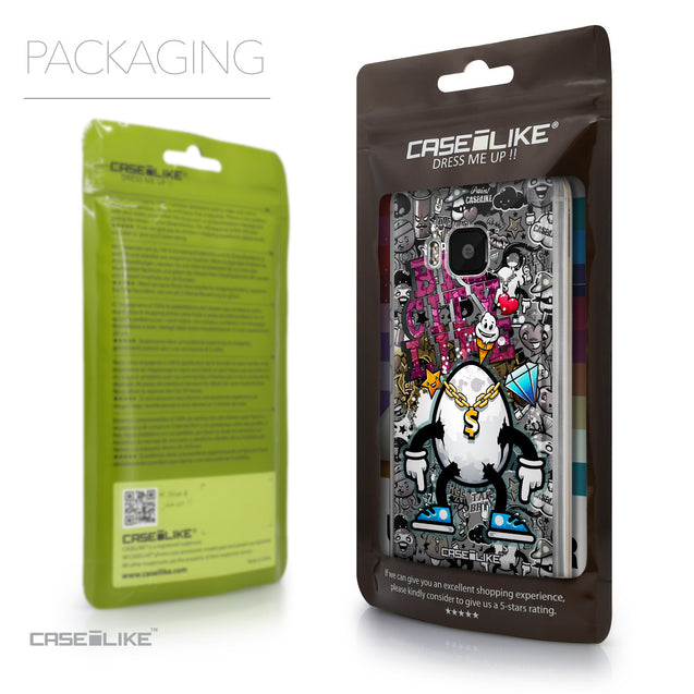 Packaging - CASEiLIKE HTC One M9 back cover Graffiti 2704