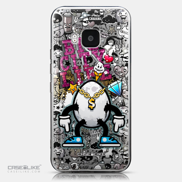 CASEiLIKE HTC One M9 back cover Graffiti 2704