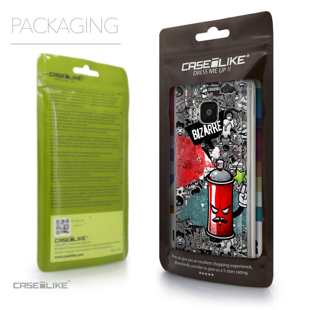 Packaging - CASEiLIKE HTC One M9 back cover Graffiti 2705