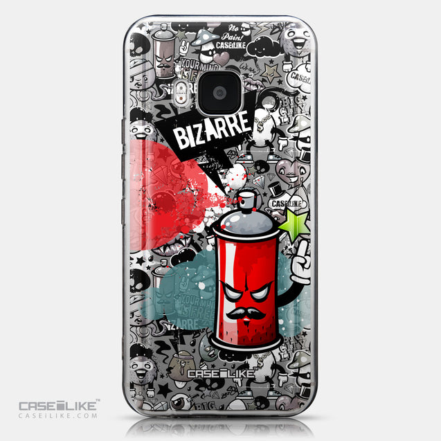 CASEiLIKE HTC One M9 back cover Graffiti 2705