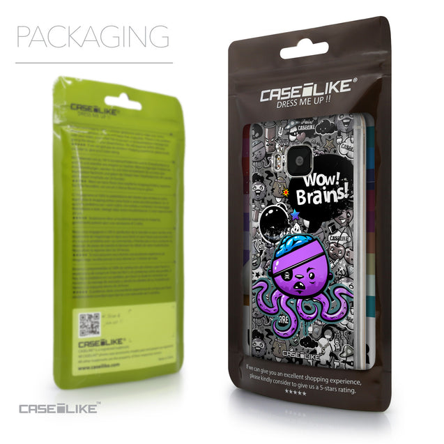 Packaging - CASEiLIKE HTC One M9 back cover Graffiti 2707