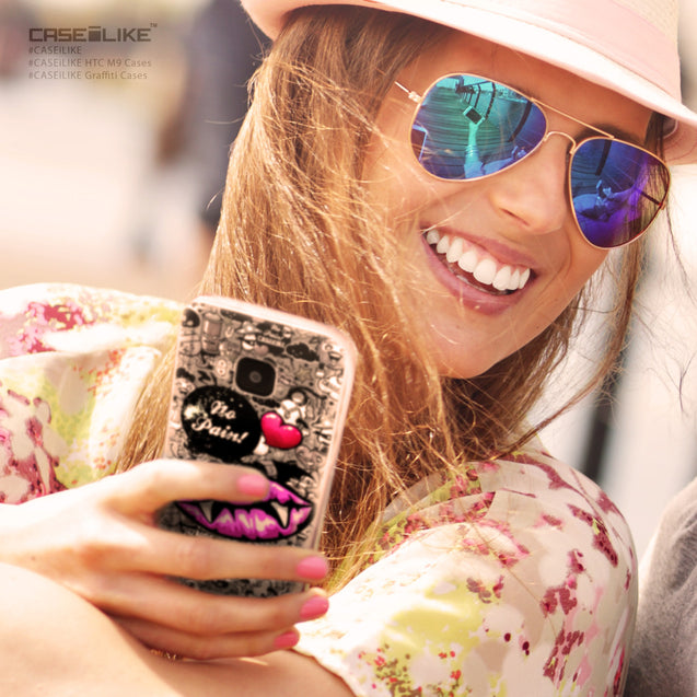 Share - CASEiLIKE HTC One M9 back cover Graffiti 2708