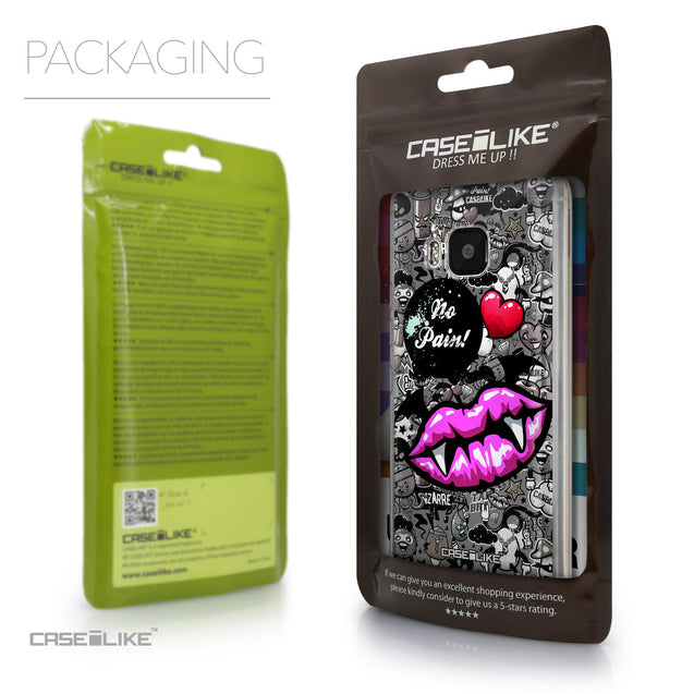 Packaging - CASEiLIKE HTC One M9 back cover Graffiti 2708