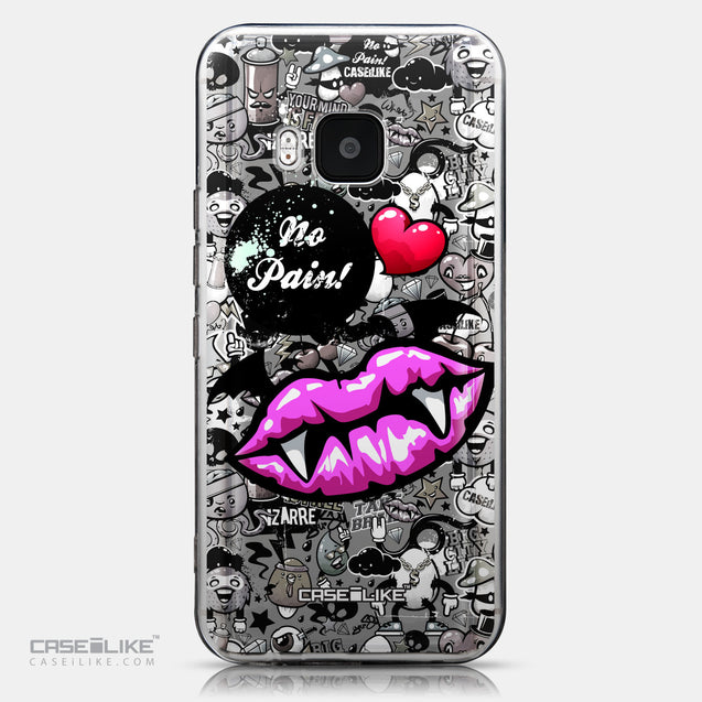 CASEiLIKE HTC One M9 back cover Graffiti 2708