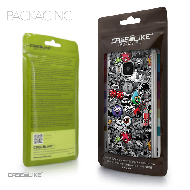 Packaging - CASEiLIKE HTC One M9 back cover Graffiti 2709
