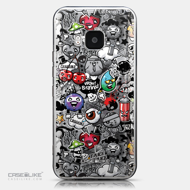 CASEiLIKE HTC One M9 back cover Graffiti 2709