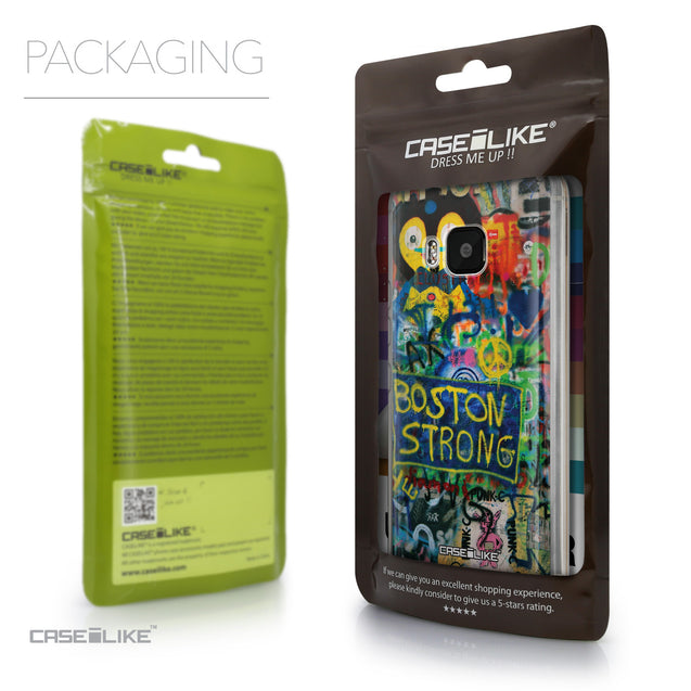 Packaging - CASEiLIKE HTC One M9 back cover Graffiti 2723
