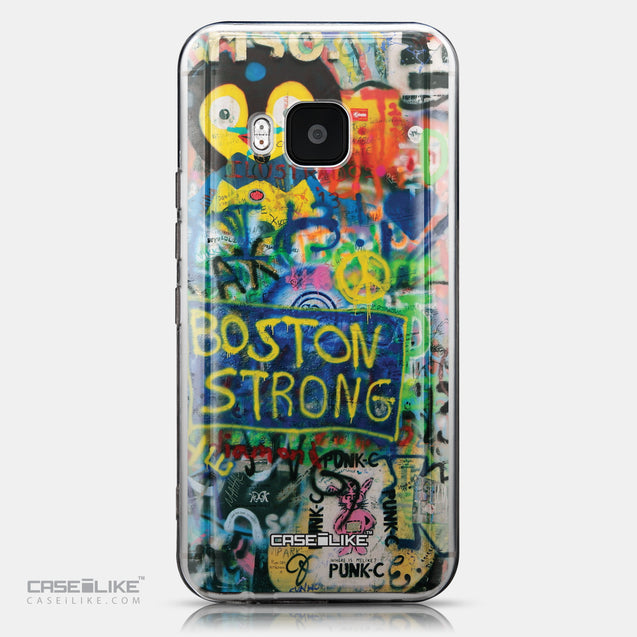 CASEiLIKE HTC One M9 back cover Graffiti 2723