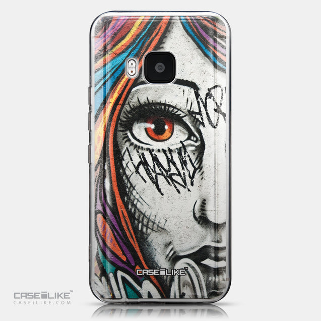 CASEiLIKE HTC One M9 back cover Graffiti Girl 2724