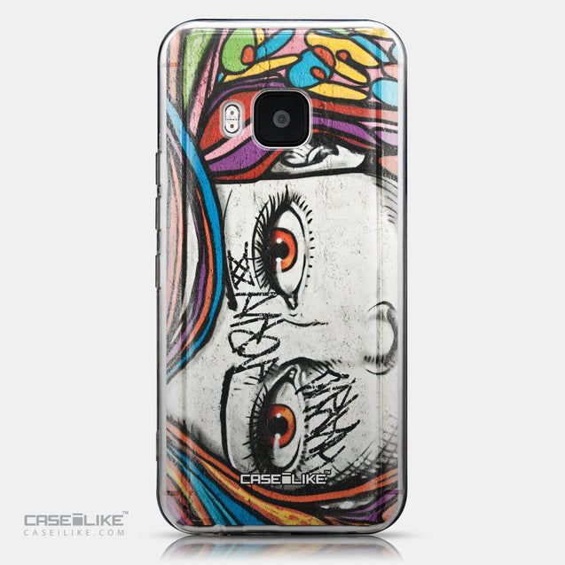 CASEiLIKE HTC One M9 back cover Graffiti Girl 2725