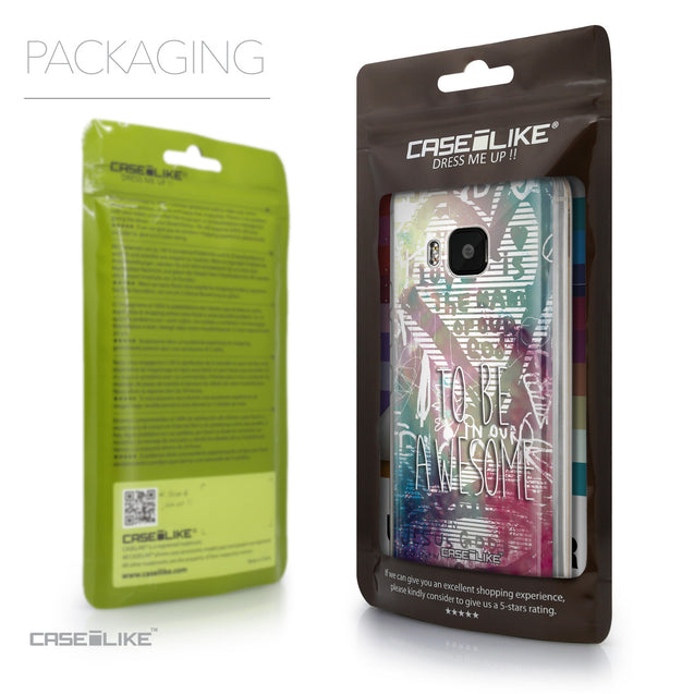 Packaging - CASEiLIKE HTC One M9 back cover Graffiti 2726
