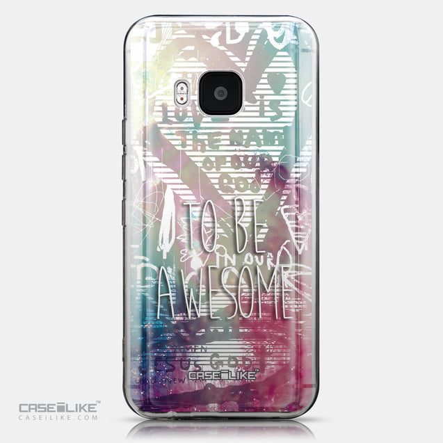 CASEiLIKE HTC One M9 back cover Graffiti 2726