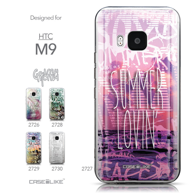 Collection - CASEiLIKE HTC One M9 back cover Graffiti 2727