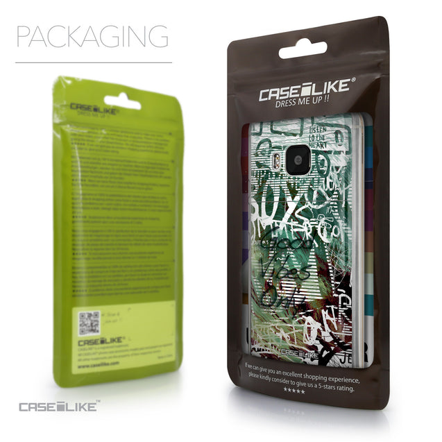 Packaging - CASEiLIKE HTC One M9 back cover Graffiti 2728