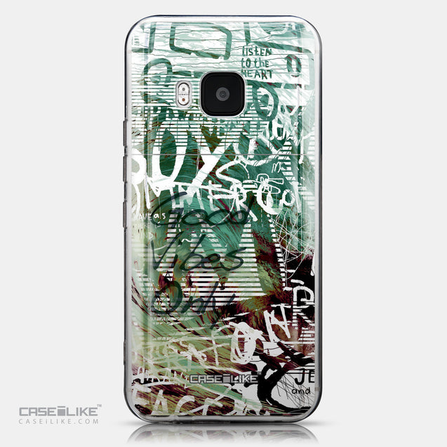 CASEiLIKE HTC One M9 back cover Graffiti 2728