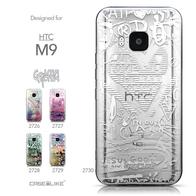 Collection - CASEiLIKE HTC One M9 back cover Graffiti 2730